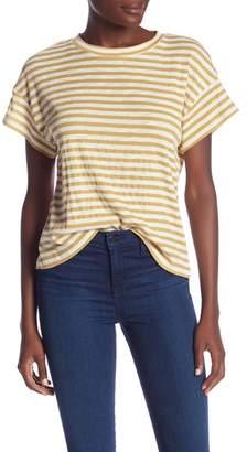 &.Layered Striped T-Shirt