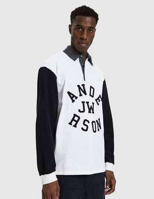 J.W.Anderson Rugby Long Sleeve Polo Shirt