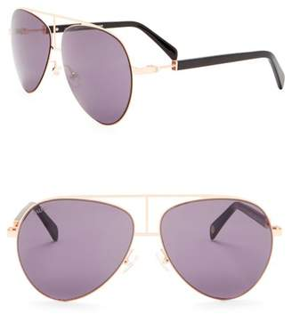 Balmain 59mm Aviator Sunglasses