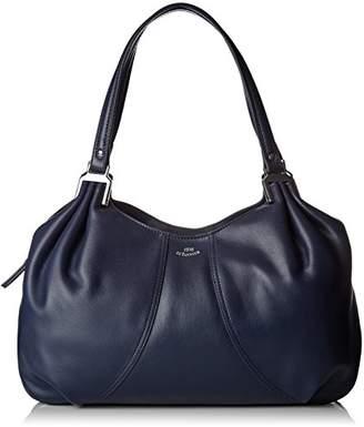 Le Tanneur Women's THX1001 Shoulder Bag Blue