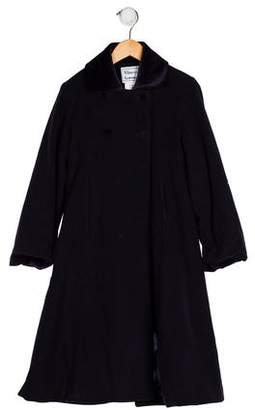 Florence Eiseman Girls' Wool Collared Coat