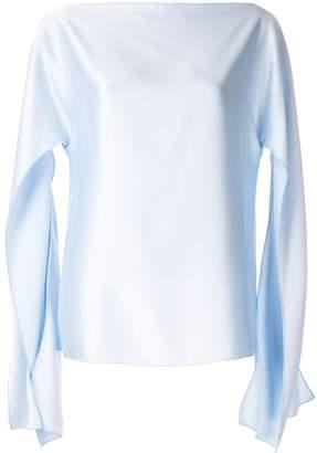 CHRISTOPHER ESBER slit sleeve blouse