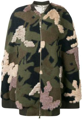 Liska military styled loose coat