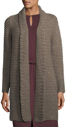 Lafayette 148 New York Hand-Knit Chunky Cardigan Coat
