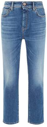 Max Mara Denim Straight Leg Jeans