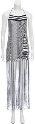 Missoni Mare Chevron Fringe-Trimmed Cover-Up