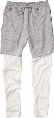 Crazy 8 Crazy8 Elwood Inset Layered Shorts