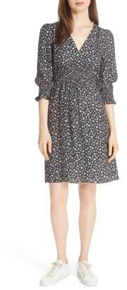 Rebecca Taylor Zelma Floral Silk Dress