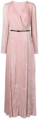Blumarine long textured dress