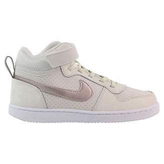 ef1d64e59070d2 Nike Girls  Court Borough Mid (PSV) Basketball Shoes