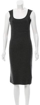 Michael Kors Wool Knit Sheath Dress