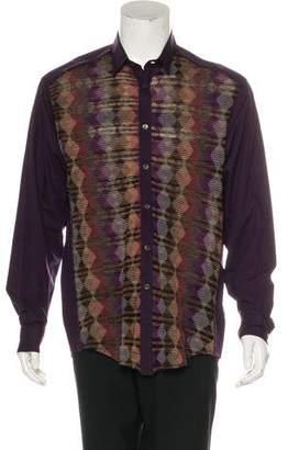 Missoni Woven Button-Up Shirt