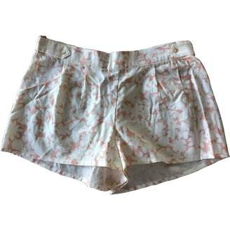 Princesse Tam-Tam Beige Cotton Shorts for Women