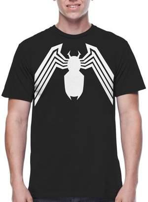 Spiderman Movies & TV Marvel Leggs Big Men's Graphic T-shirt, 2XL