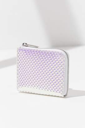Urban Outfitters Iridescent Square Wallet