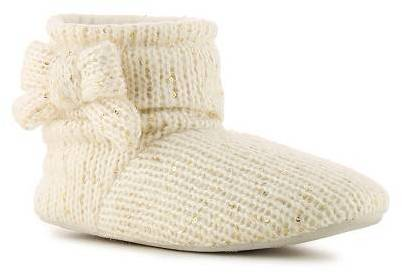 Jessica Simpson Sequin Knit Bootie Slipper