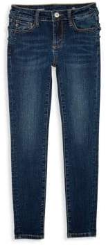 AG Adriano Goldschmied kids Girl's Bexley Heart Patch Skinny Jeans