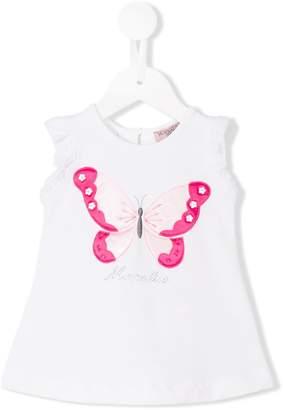 MonnaLisa butterfly logo blouse