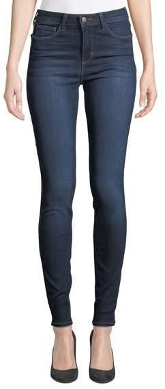 Marguerite High-Rise Ankle Skinny Jeans