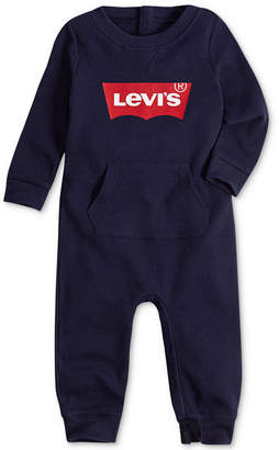 Levi's Baby Boys & Girls Thermal Logo-Graphic Coverall