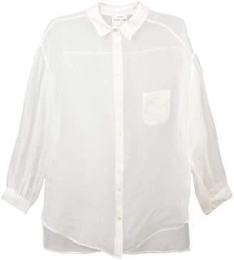Forte Forte long sleeved sheer shirt