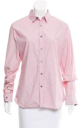 Paul Smith Long Sleeve Button-Up Top