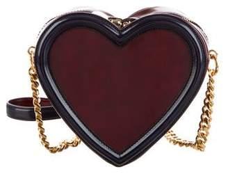 Stella McCartney Vegan Leather Heart Crossbody Bag