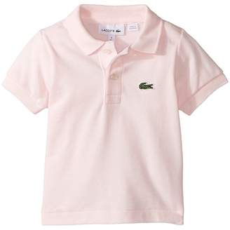 Lacoste Kids L1812 Short Sleeve Classic Pique Polo Boy's Short Sleeve Pullover