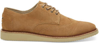 Toffee Suede Men's Brogues