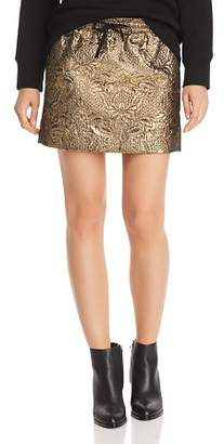Aqua Metallic Mini Skirt - 100% Exclusive