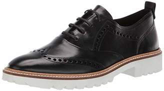 Ecco Women's Women's Incise Tailored Wing Tip Oxford Flat