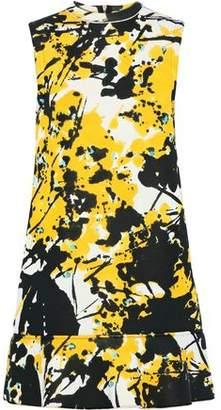 Marni Printed Ponte Mini Dress