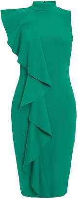 Dorothy Perkins Womens *Quiz Jade Green High Neck Bodycon Dress