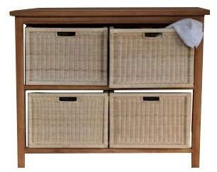 Anderson Teak Spa Towel Console Table