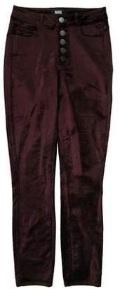 Paige Velvet Hoxton Ankle Peg Mid-Rise Jeans
