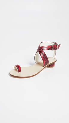 Tibi Hanson Toe Ring Sandals