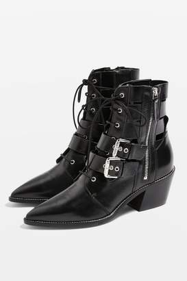 Topshop AGATE Low Ankle Boots