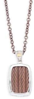 Alor Stainless Steel Cable Woven Necklace