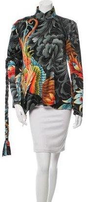 Yohji Yamamoto Silk Asymmetrical Top w/ Tags $795 thestylecure.com
