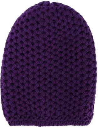 Inverni chunky wool knitted beanie