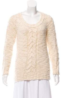 Rag & Bone Silk Cable Knit Sweater