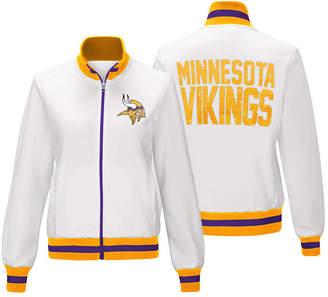G-iii Sports Women Minnesota Vikings Field Goal Track Jacket