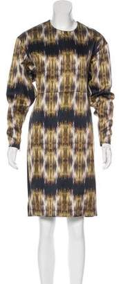 Celine Abstract Print Dress w/ Tags