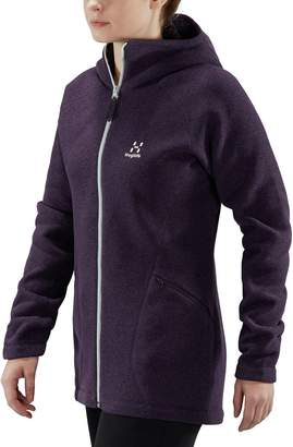 Haglöfs Saga Hooded Fleece Jacket - Women's