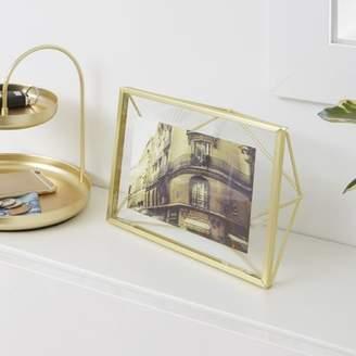 Umbra Mattern Brass Picture Frame
