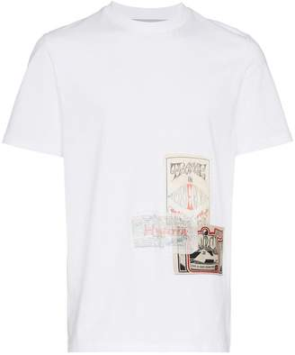 Martine Rose flyer patch t-shirt
