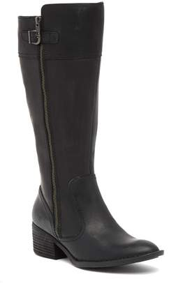 Børn Fannar Wide Calf Leather Knee High Boot