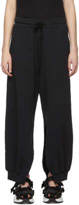 MM6 MAISON MARGIELA Black Split Lounge Pants