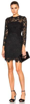 Nicholas Wallpaper Lace Mini Dress