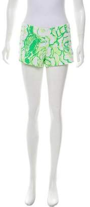 Lilly Pulitzer Printed Low-Rise Shorts